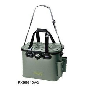 プロックス(PROX)EVAタックルバック ロッドホルダー付 PX99640AG 40cm アーミーグリーン