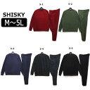 ★1SHISKY フリース 上下セット メンズ M L XL 3L 4L 5L 5-1レッド 5-2カーキ 5-3ネイビー 5-4チャコール 5-5ブラック 848-130 848-510 シスキー