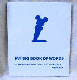 g5631 【中古】 【2019年4月17日発売 最新版 リニューアル版】DWEディズニー英語システム ワールドファミリー マイビッグブックオブワーズ My Big Book of Words 1冊のみ 【完全未開封品】 幼児英語教材