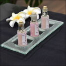 バリ島のガラス製プレート/バリ雑貨/アジアン雑貨/小物入れ/オブジェ/ディスプレイ
