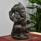 人工石で作ったガネーシャの置物【高さ28Cm】インドネシア/バリ雑貨/バリ島/石像/アジアン雑貨