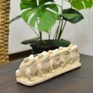 石像の置物カエルのレターラック【バリ島直輸入バリ雑貨アジアン雑貨おしゃれ】