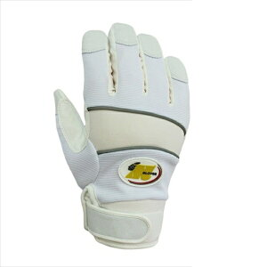 まとめ買い!10セット 防水防寒手袋 Lサイズ(ホワイト) 5双 縫製防寒手袋 作業用グローブ 合成皮革手袋