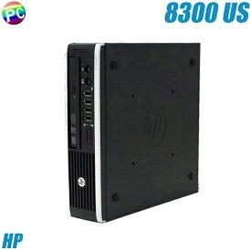 HP Compaq Elite 8300 US 【中古】 メモリ8GB 新品SSD256GBに換装済み Windows10 コアi5-3470S搭載 中古デスクトップパソコン DVDスーパーマルチ WPS Office付き 中古パソコン