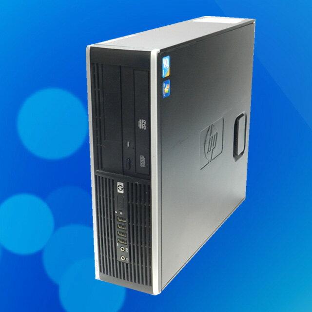 GeforceGT710 グラボ搭載!中古パソコンHP Compaq 6000 Pro【中古】Coe2Duo E8400/6GB/500GB スーパーマルチ搭載Windows7セットアップ済み KingSoft Office 付き◎