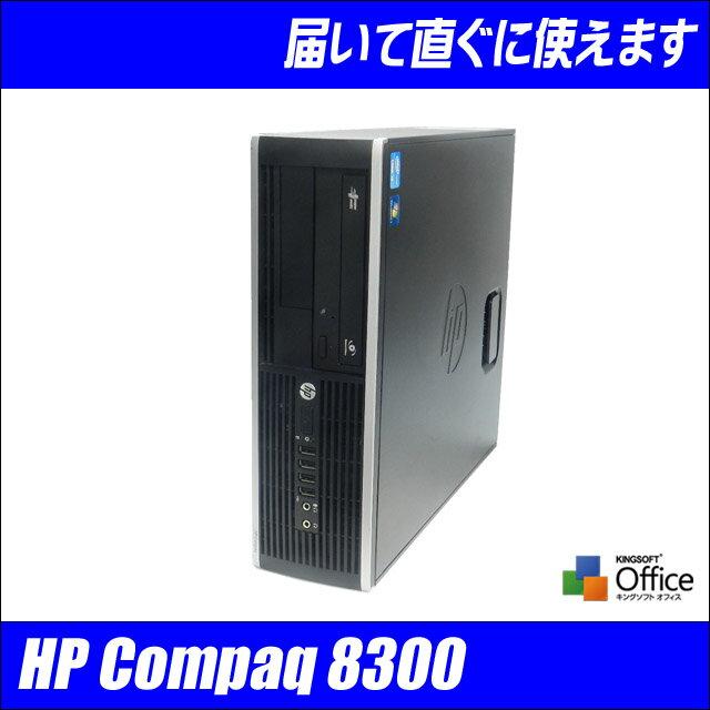 中古パソコン Windows7搭載!HP Compaq 8300 EliteCore i5 3570 3.40GHzメモリ 16GB 搭載 WIndows7-PRO 64Bit セットアップ済みWPS Office付き【中古パソコン】【中古】【Windows7 中古】◎