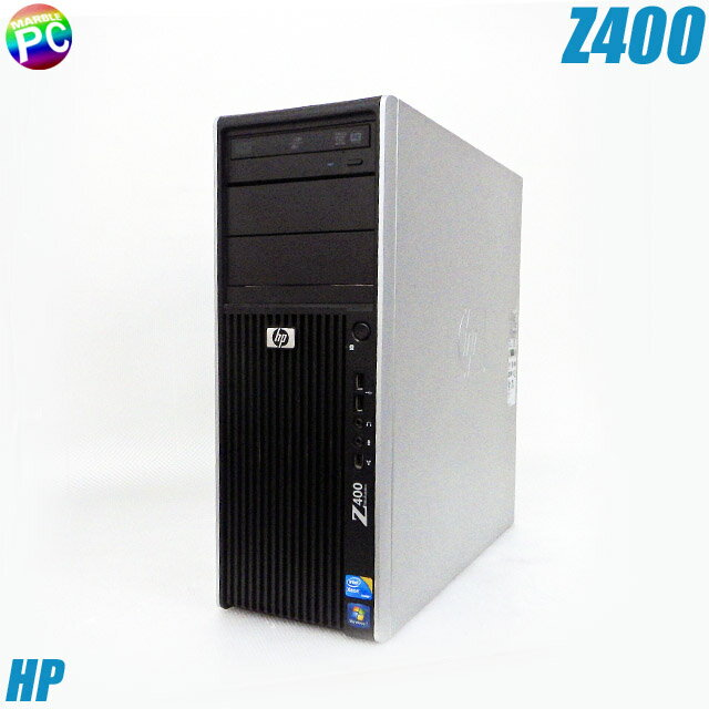 HP Z400 Workstation 【中古】 メモリ8GB HDD250GB Xeon(3.20GHz) Quadro4000グラボ搭載 OS無し 中古デスクトップパソコン DVD-ROM内蔵 中古パソコン