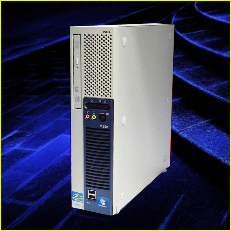 【中古デスクトップPC】Windows7Pro-64bit搭載NEC Mate MK32ME-F第3世代Corei5 3470プロセッサー 3.2GHz メモリ16GB HDD250GBDVDスーパーマルチ【KingSoft Officeインストール済み】