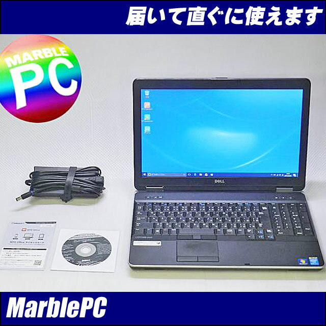 中古パソコン Windows10 DELL Latitude E6540Corei7-4600M 2.9GHz/第四世代/MEM4GB/HDD320GB15.6型HD/DVDマルチ/WLAN/Win10Pro-64bitWPS Office【中古】