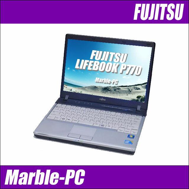 富士通 LIFEBOOK P770 【中古】 Windows10 液晶12.1インチ コアi5(1.33GHz) メモリ4GB HDD160GB 無線LAN内蔵 中古パソコン WPS Officeインストール済み 中古ノートパソコン
