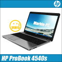 中古パソコン Windows10アップグレード済 安心3ヶ月保証付き HP ProBook 4540s【中古】 液晶:15.6インチ Celeron:1.90GHz メモリ2GB HDD250GB D