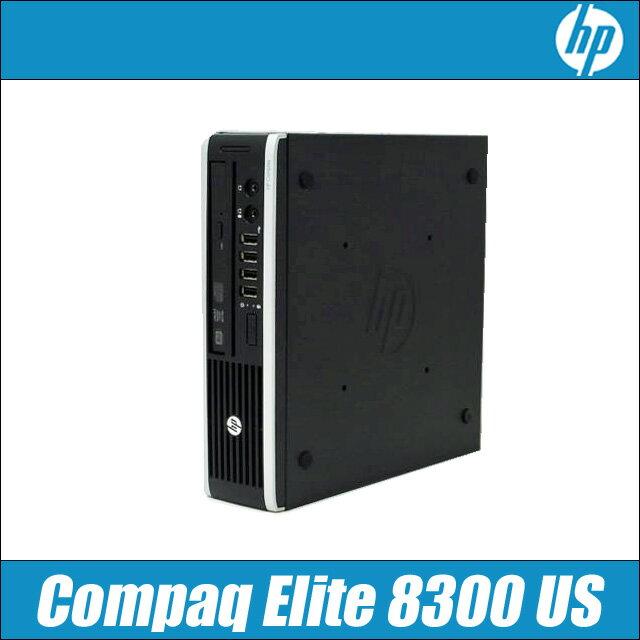 中古パソコン HP Compaq Elite 8300 US 【中古】 Windows10 コアi5-3470S:2.9GHz〜最大3.6GHz メモリ:4GB SSD:120GB DVDスーパーマルチドライブ搭載 中古デスクトップパソコン=