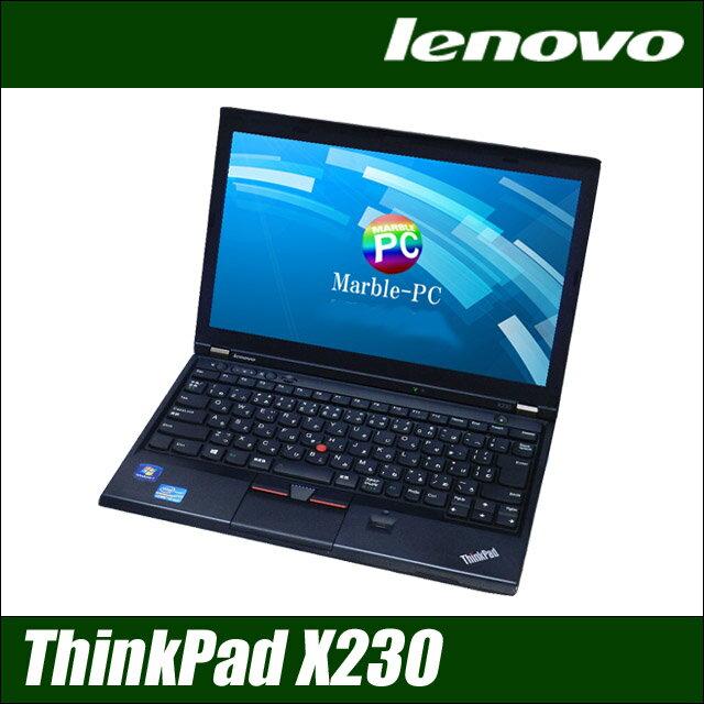 Lenovo ThinkPad X230 【中古】 高速SSD128GB メモリ8GB 12.5インチ液晶 モバイル 中古ノートパソコン Windows10-Pro コアi5(2.60GHz) 無線LAN 中古パソコン WPS Officeインストール済み