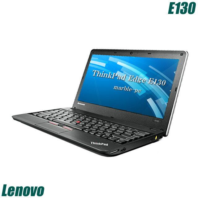 Lenovo ThinkPad Edge E130 【中古】 メモリ4GB HDD320GB 11.6インチ液晶 中古ノートパソコン Windows10 コアi3(1.90GHz)搭載 WEBカメラ 無線LAN付き WPS Officeインストール済み 中古パソコン