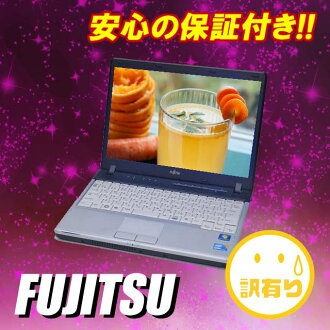Secondhand notebook PC Fujitsu LIFEBOOK P770/B 12.1 inch LCD Windows 7 powered laptop Core i5 1.33 GHz MEM:2 GB HDD:160 GB wireless LAN built-in KingSoft Office Japan language version installed