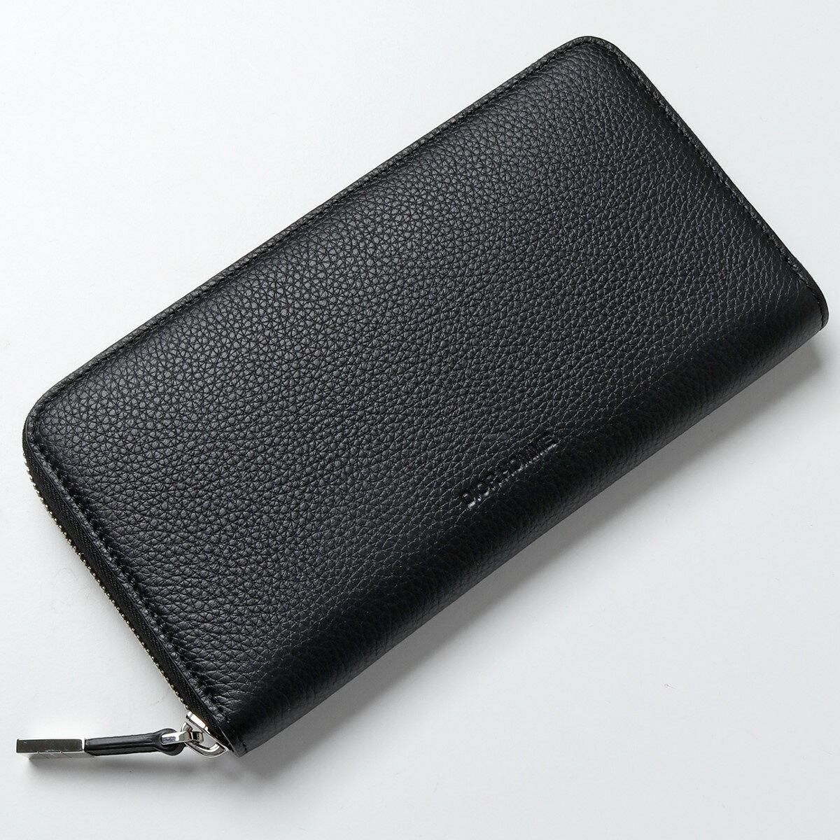Dior Homme ディオールオム 2DSBC011TAB 900U レザー ラウンドファスナー 長財布 エンボスロゴ カラー900/Black メンズ