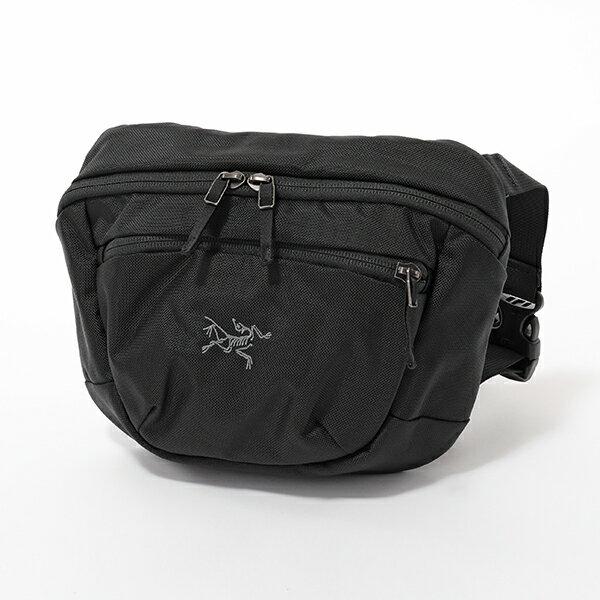 ARCTERYX アークテリクス 17172 Maka 2 Waistpack マカ 2 ウエストパック ボディバッグ ショルダーバッグ ウエストポーチ サブバッグ カラーBlack メンズ