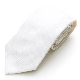 ARMANI COLLEZIONI アルマーニ コレツォーニ 350082 7A301 00010 イタリア製 シルク ネクタイ カラーWHITE/ホワイト他 メンズ