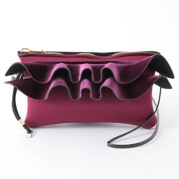 SAVE MY BAG セーブマイバッグ RIVIERE CLUTCH MIDI METALLICS VELVET LYCRA 2154N メタリック ベルベット 軽量 ショルダーバッグ ポシェット クラッチ ポーチ カラーBOLERO-CENTURY