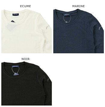 SAINTJAMESセントジェームスCELINAUクルーネック長袖Tシャツカットソーカラー3色レディース