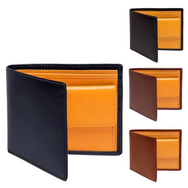 ETTINGER エッティンガー ブライドルハイドコレクション BRIDLE BH 141JR BILLFOLD WITH 3 C/C & COIN PURSE 二つ折り 財布 ミニ財布 豆財布 ブライドルレザー カラー4色 メンズ