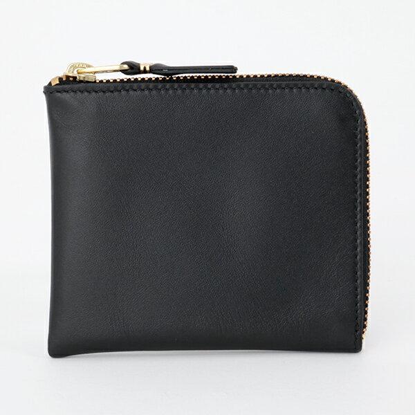COMME des GARCONS コムデギャルソン SA3100 L字ファスナー ミニ財布 豆財布 カードケース 小銭入れ カラーBLACK 10476メンズ