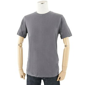three dots スリードッツ BO1C 645 クルーネック 丸首 半袖 Tシャツ ショートスリーブ カットソー 無地T カラーNYG/チャコールグレー メンズ【訳有】