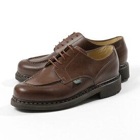 PARABOOT パラブーツ CHAMBORD シャンボード Uチップ レザー シューズ 710708 MARRON 靴 メンズ