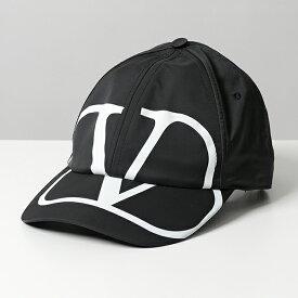 【エントリーでポイント最大18倍!3月1日限定】VALENTINO ヴァレンティノ SY2HDA00 GFF 0NI ベースボールキャップ 帽子 メンズ