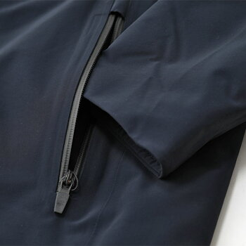 UBERUBRウーバー7033RegulatorParkaレギュレーターパーカーフードスタンドカラーコート中綿コート590/Navyメンズ