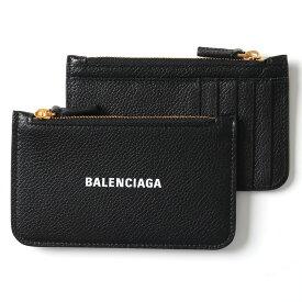 BALENCIAGA バレンシアガ 594214 1IZ4M 1090 レザー カードケース パスケース コインケース ミニ財布 フラグメントケース レディース