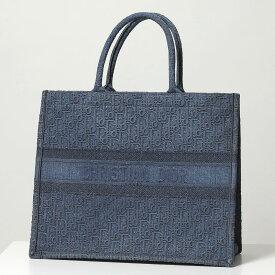 Dior ディオール M1286ZWAL 928U DIORBOOK キャンバス デニム ブック トートバッグ 928/Bleu-Multic 鞄 レディース