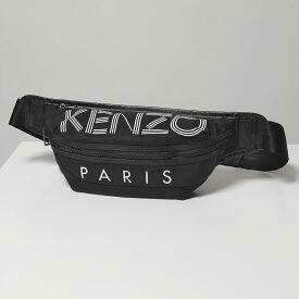 KENZO ケンゾー 5SF212 F24 BUMBAG ロゴ ボディバッグ ウエストポーチ ベルトバッグ 99/Nero 鞄 メンズ