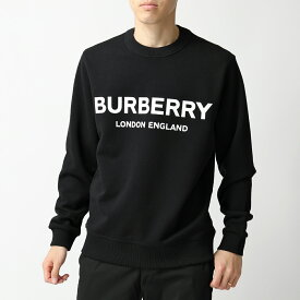 BURBERRY バーバリー 8011357 スウェットシャツ トレーナー ロゴプリント BLACK メンズ