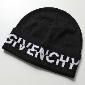GIVENCHY ジバンシィ GVCAPP U1842 ニットキャップ ウール ニット帽 ロゴ 帽子 3 メンズ