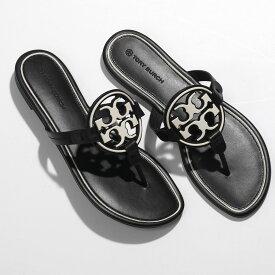 TORY BURCH トリーバーチ 79439 METAL MILLER ミラー トングサンダル アイコンパーツ装飾 靴 416/PERFECT-NAVY/NEW-CREAM レディース【2021ss】