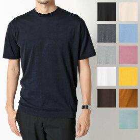 JOHN SMEDLEY ジョンスメドレー LORCA STANDARD FIT カラー6色 クルーネック 半袖 ニット セーター コットンニット シーアイランドコットン メンズ
