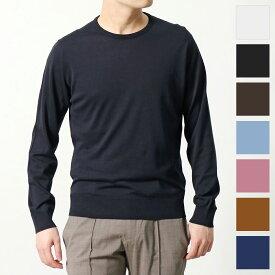 JOHN SMEDLEY ジョンスメドレー EMMETT MODERN FIT カラー4色 30G 長袖 クルーネック ニット セーター シーアイランドコットン メンズ