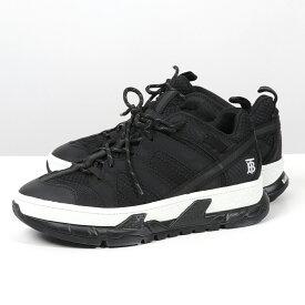 BURBERRY バーバリー 8013390 A1189 BLACK メッシュ×ヌバック ユニオン スニーカー シューズ 靴 メンズ