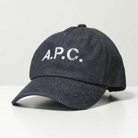 APC A.P.C. アーペーセー COEDZ M24071 casquette eden ロゴ デニム ベースボールキャップ 帽子 IAI/INDIGO レディース