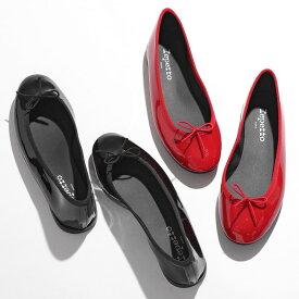 repetto レペット V1790VLUX LILI BALLELINA AD リリ パテントレザー バレエシューズ パンプス レインシューズ ミティックゴムライン 410/Noir 靴 レディース【2021aw】