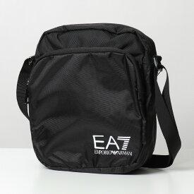 【エントリーでポイント最大18倍!3月1日限定】EA7 EMPORIO ARMANI イーエーセブン エアセッテ エンポリオアルマーニ 275669 CC731 ショルダーバッグ ポシェット ナイロン 00020/BLACK 鞄 メンズ