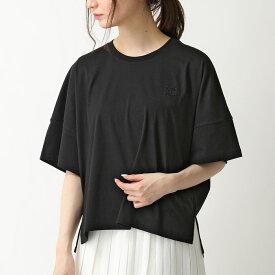 LOEWE ロエベ S540333XAT 1100 オーバーサイズ Tシャツ カットソー BLACK レディース