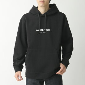 WOOLRICH ウールリッチ WOSW0043MR UT1465 スウェット プルオーバーパーカー 100/BLACK メンズ