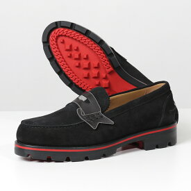 Christian Louboutin クリスチャンルブタン 1200241 MONOCROC FLAT ローファー シューズ 靴 BK01/BLACK メンズ