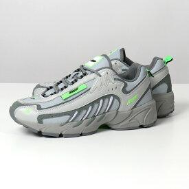 MSGM×FILA エムエスジーエム フィラ コラボ 2840 MS0126F 299 96 レザー ローカット スニーカー シューズ 靴 グレー メンズ