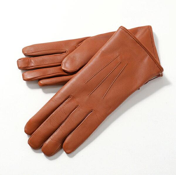 DENTS デンツ 17-1061 Ripley コニーファーライニング レザー グローブ 手袋 手ぶくろ アームウェア COGNAC/Brown レディース