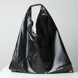 【訳有】MM6 Maison Margiela エムエムシックス メゾンマルジェラ S54WD0039 PS485 Japanese トライアングル トートバッグ 鞄 T8013 レディース