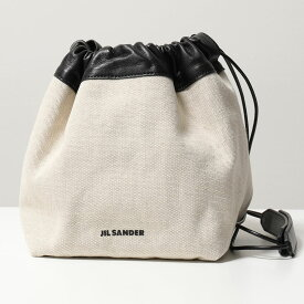 JILSANDER ジルサンダー JSPS853407 WSB73010N DRAWSTRING SM CROSSB ドローストリグバッグ 巾着バッグ リバーシブル ショルダーバッグ 101 レディース