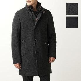 MOORER ムーレー BOND FUR LE カシミヤウール ラビットファー付き ダウンコート ロング ダウンジャケット 2色 メンズ